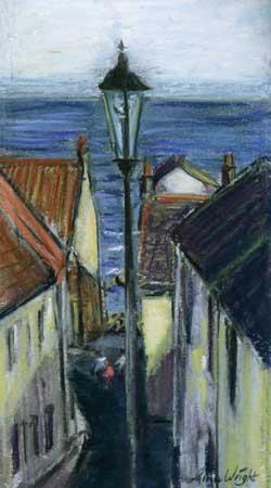 Cellerdyke Lane, Pastel