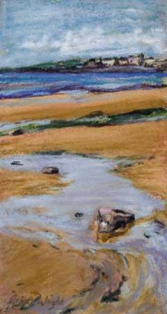 Study for Elie Sands, Pastel