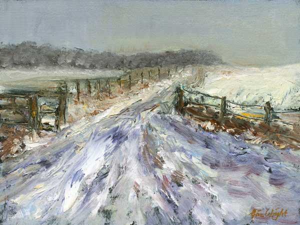 Snow Over Forgan, Oil