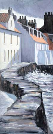West Shore Sea Wall, Pittenweem